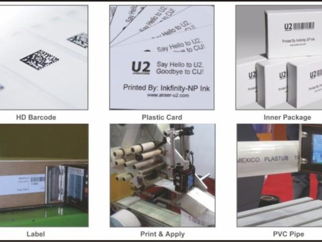 Versatile Printing - Inks & Barcodes